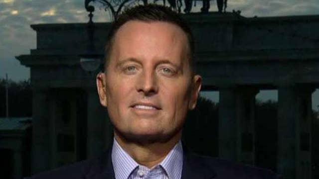 Amb. Grenell on Trump's relationship with European leaders