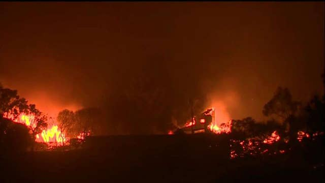 California experiencing most destructive wildfire in history