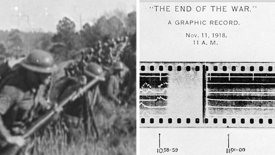 Hear what the final moments of World War I sounded like