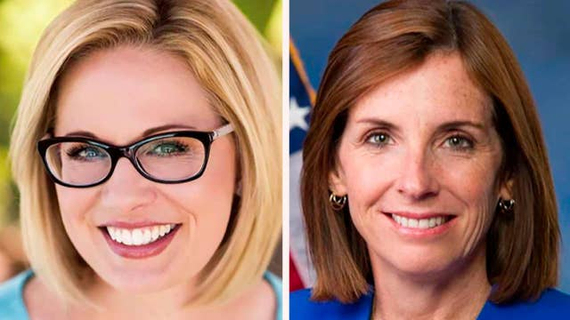 Sinema widens lead over McSally in Arizona senate race
