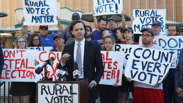 Why GOP is fighting to ensure every vote counts in Arizona