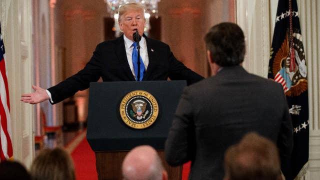 Trump slams several reporters