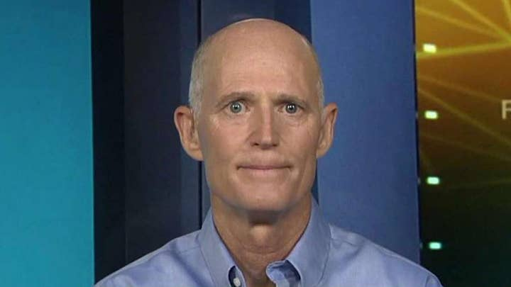 Rick Scott on another vote counting controversy in Florida