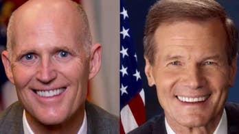 Image result for images of Florida Election 2108 Nelson vs Rick Scott