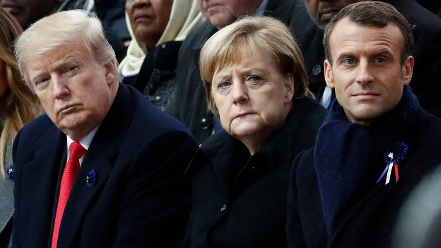 World leaders gather for 100th anniversary of end of WWI