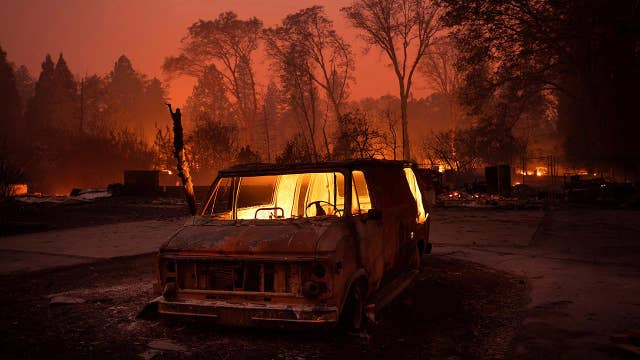 How the Camp Fire destroyed Paradise, California
