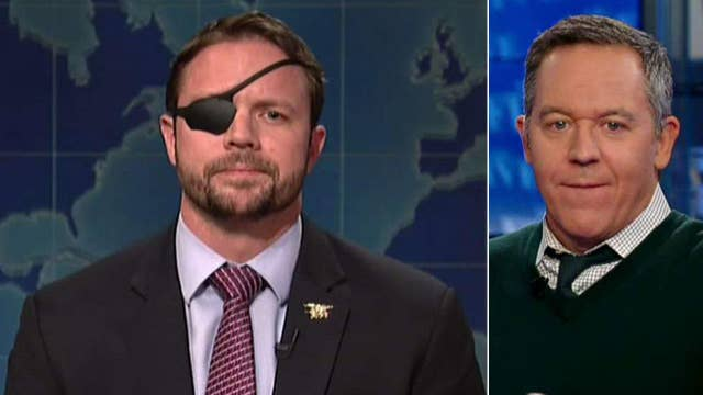 Gutfeld on Dan Crenshaw's triumphant appearance on 'SNL'