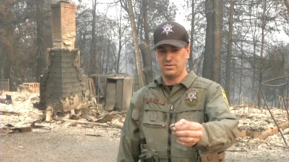 Husband finds wife's wedding ring in ashes of Camp Fire