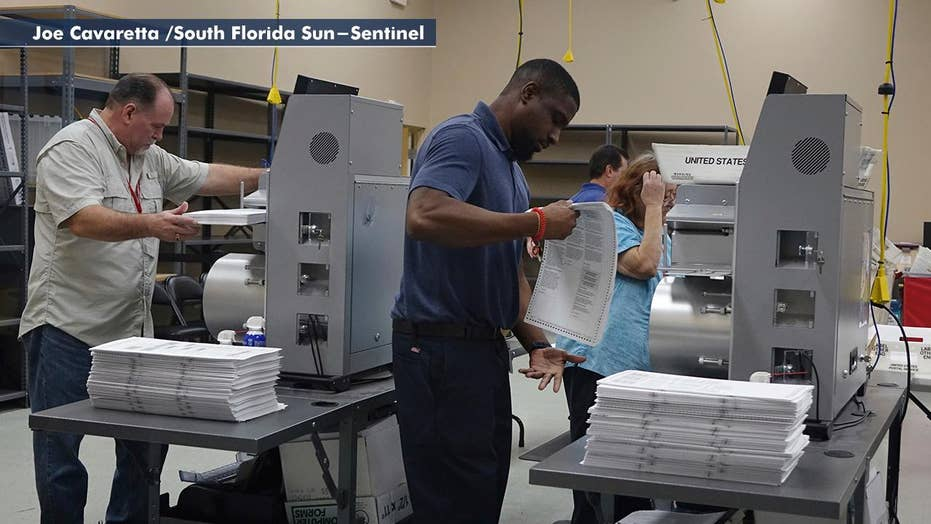 Florida election officials working around clock on recount