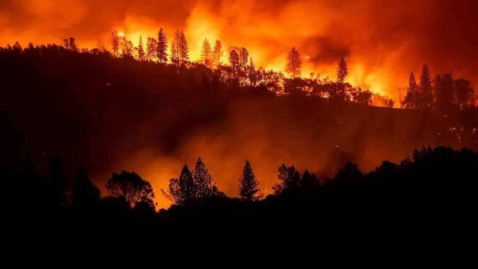 Thousands of firefighters battle wildfires in California