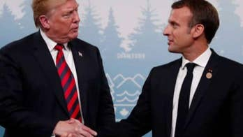 Trump slams Macron for low approval ratings, French surrender to the Nazis