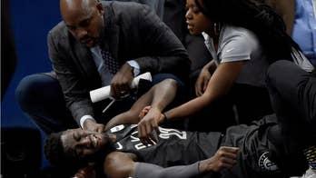 Brooklyn Nets' Caris Levert sustains severe leg injury