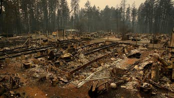 Paradise, California left in ruins from the Camp Fire