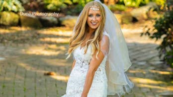 Stolen wedding dress returned to newlyweds after anonymous man hears their pleas
