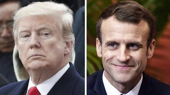 Trump tweetstorm blasts Macron over nationalism rebuke