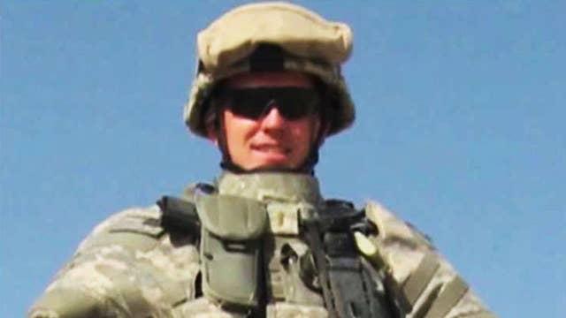 Community's touching tribute to a fallen American hero