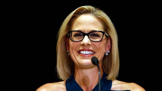 Kyrsten Sinema becomes Arizona's first female senator