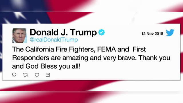 Trump tweets new support of California