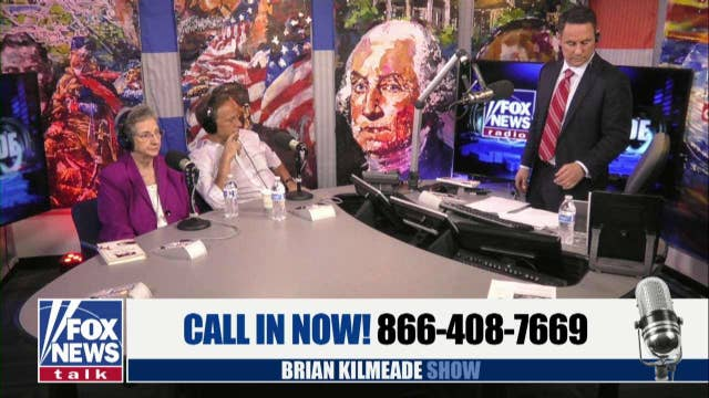 Mike and Peggy Rowe on the Brian Kilmeade Show