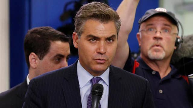 CNN sues White House for barring Jim Acosta