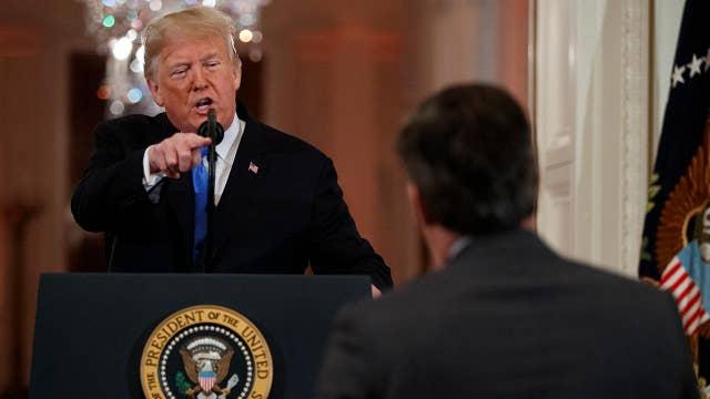 White House calls CNN lawsuit 'just more grandstanding'