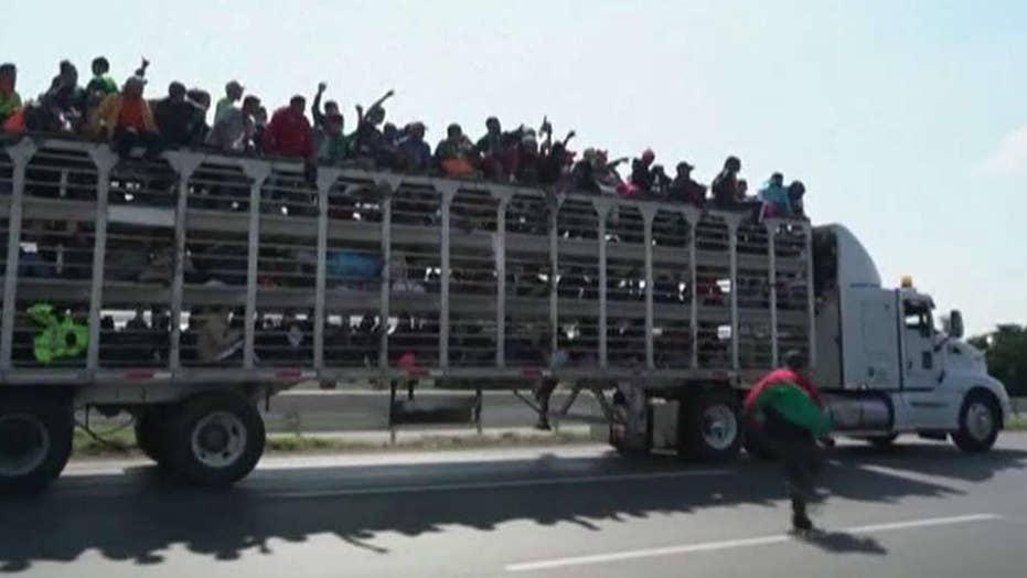 How prepared is US law enforcement for the migrant caravan?