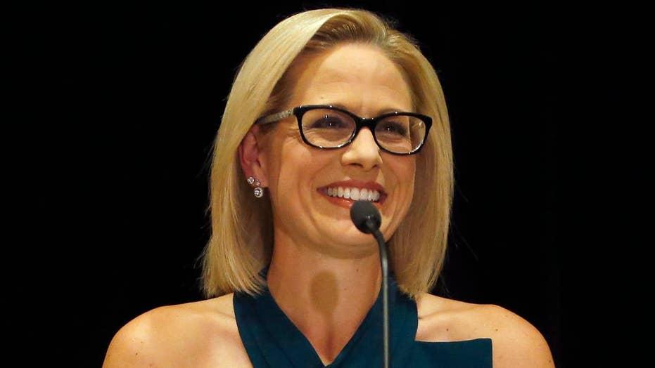 Sinema turns historically red seat blue in Arizona