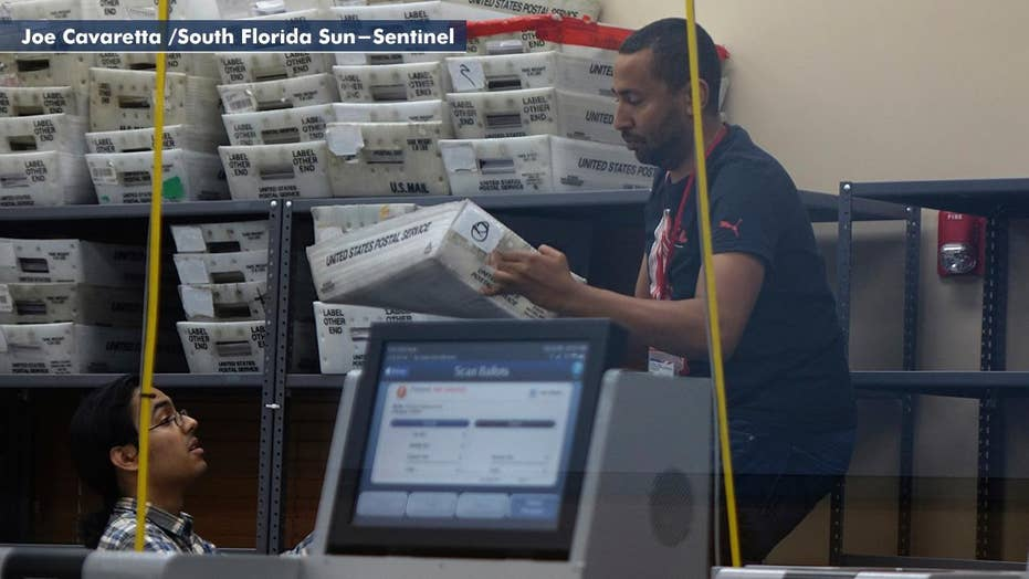 Recount off to slow start in Florida as deadline looms