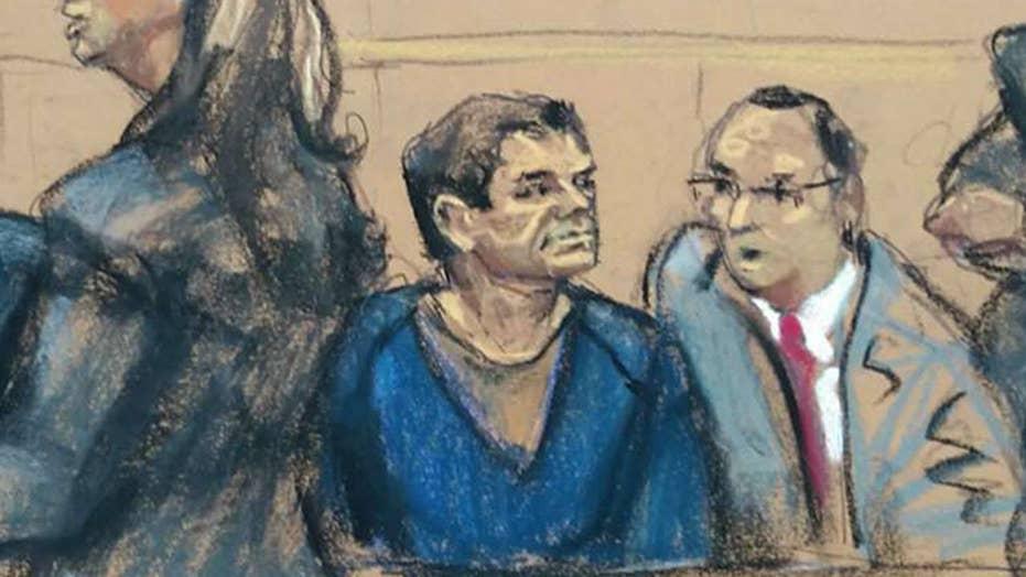 Anxious juror delays opening statements in 'El Chapo' trial