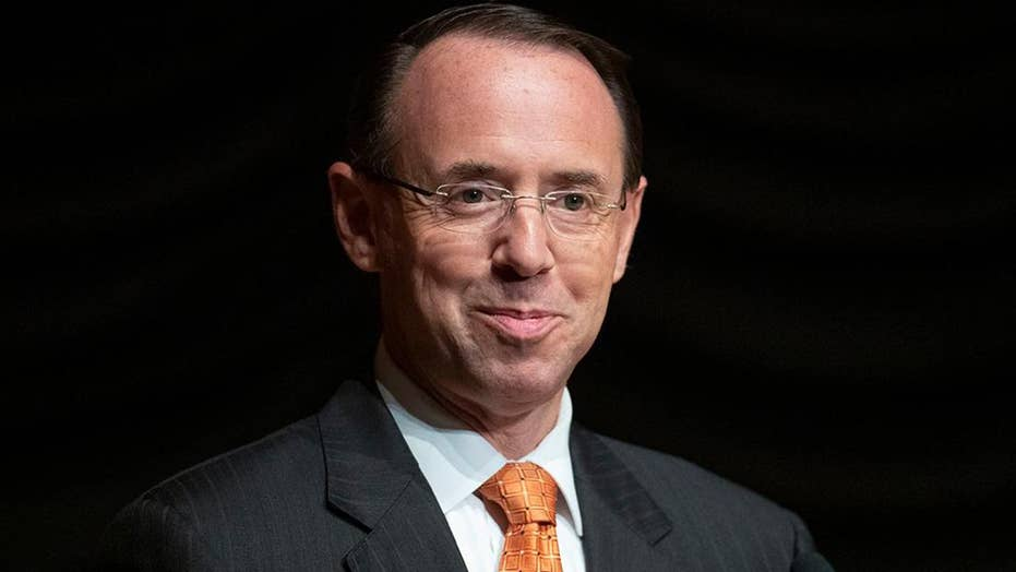 Suit seeks to install Rosenstein as acting attorney general