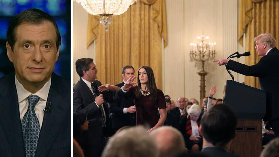 Kurtz: Why president and Acosta both benefit from legal clash