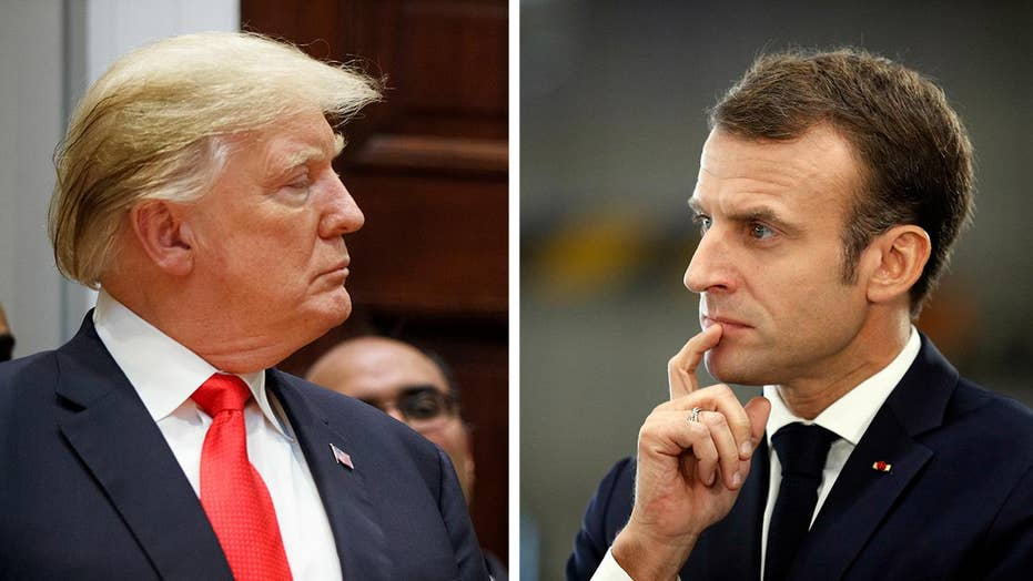 Trump slams Macron over defense as relations sour