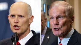 Rick Scott and Bill Nelson both show up on Capitol Hill, even as Florida contest remains undecided