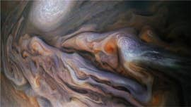 'Creatures' in Jupiter's clouds? NASA's Juno spacecraft captures images that stun the internet
