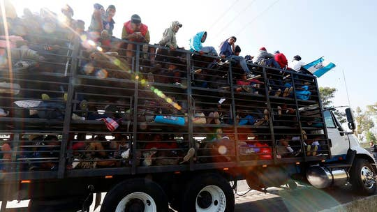 New video shows migrant caravan is organized and well-funded