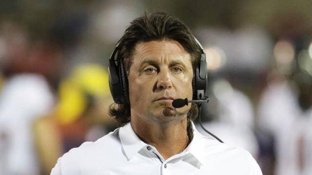 College football coach blames transfers on liberalism