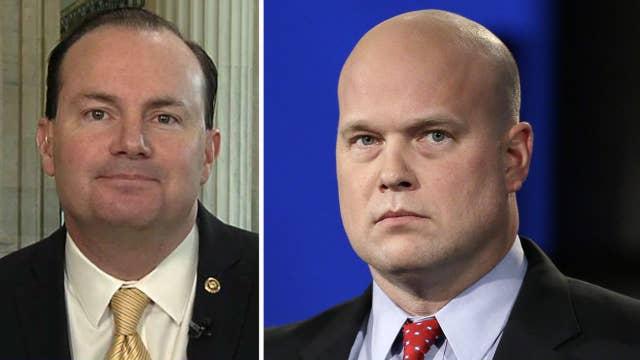 Sen. Lee: Legitimate arguments on both sides over Whitaker
