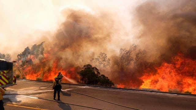 California fires overwhelm local authorities