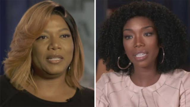 How realistic is 'Star'? Queen Latifah and Brandy weigh in