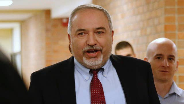 Israeli defense minister quits over cease-fire