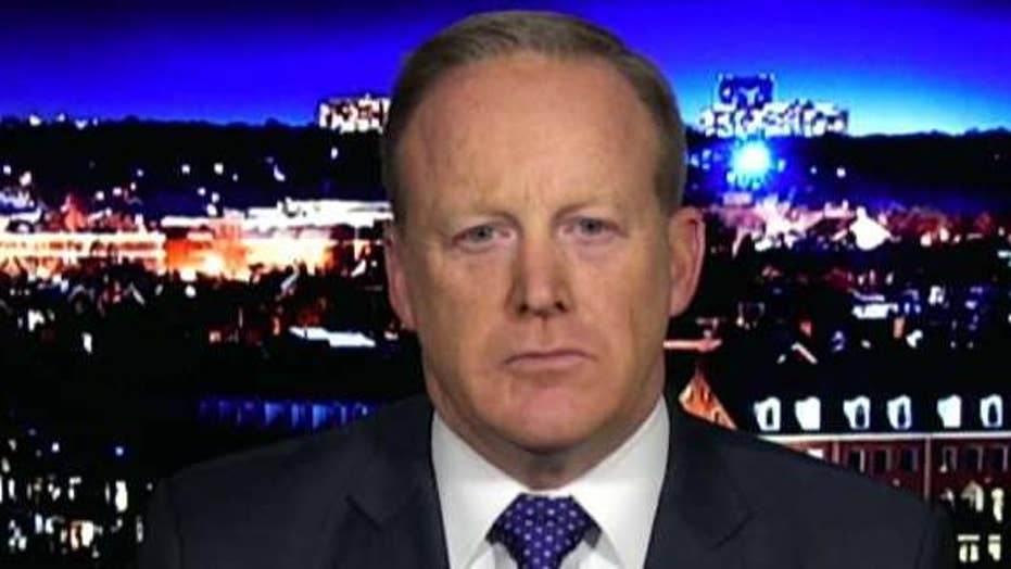 Sean Spicer on White House shakeups, CNN's feud with Trump