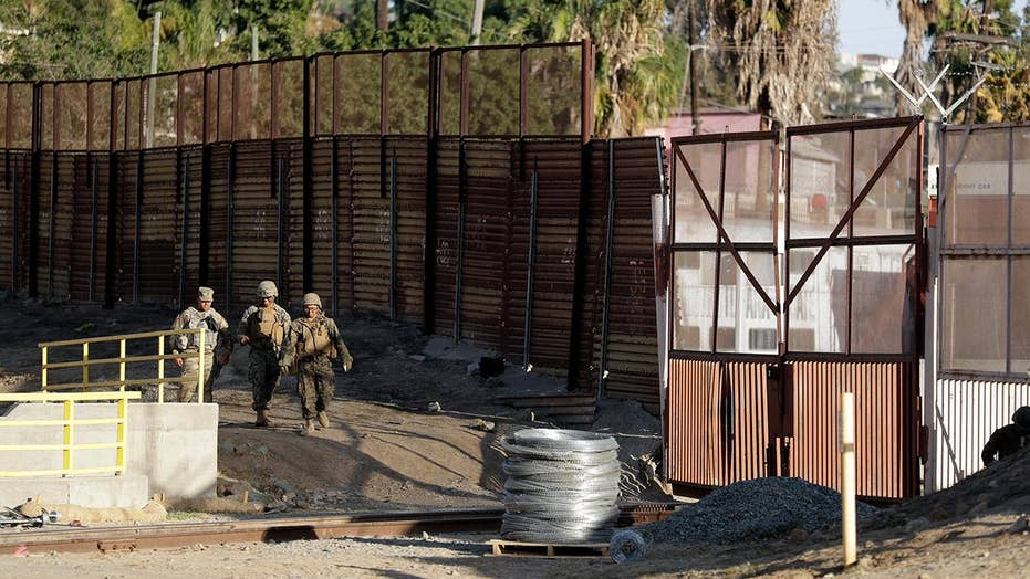 More troops sent to border as caravan approaches