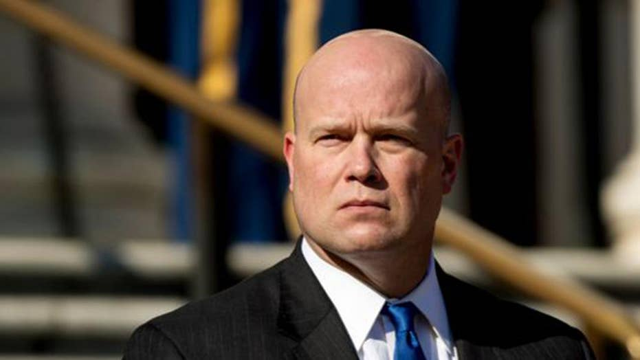DOJ says Whitaker can serve as acting attorney general