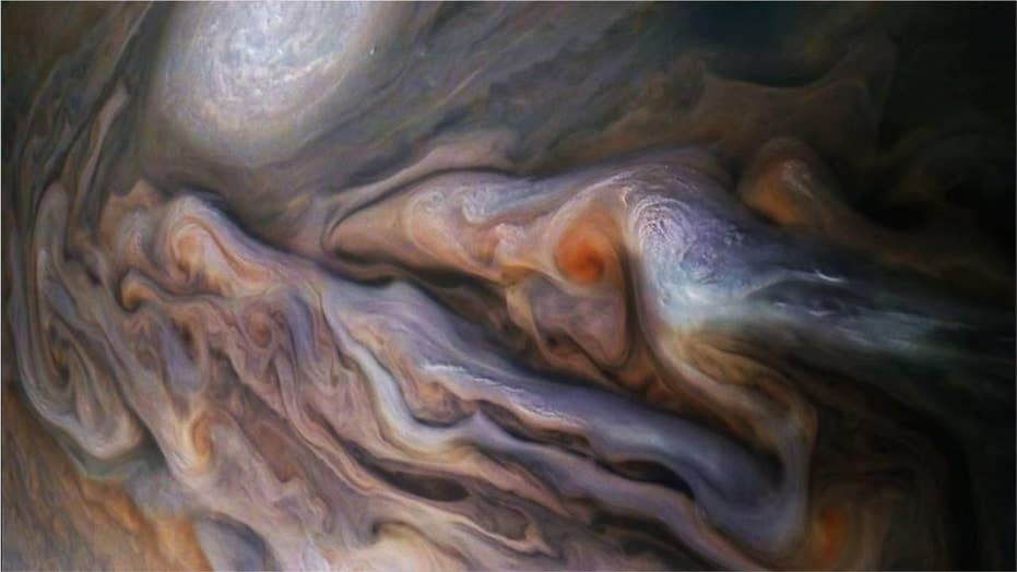 Mysterious 'creature' spotted in Jupiter's clouds stuns NASA