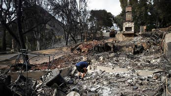 Diminishing winds help firefighters in California
