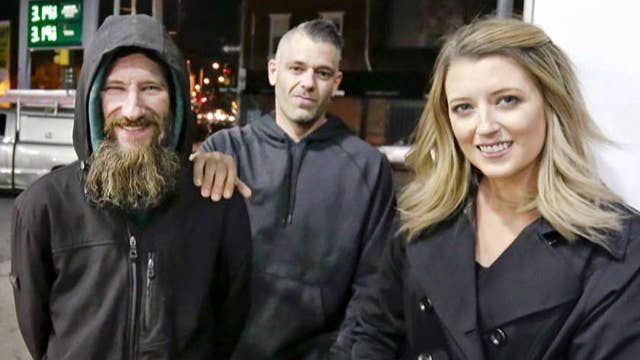 Report: Couple, homeless man made up story to get money