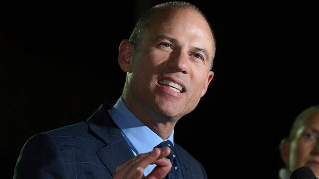Avenatti out on bail after domestic violence charge
