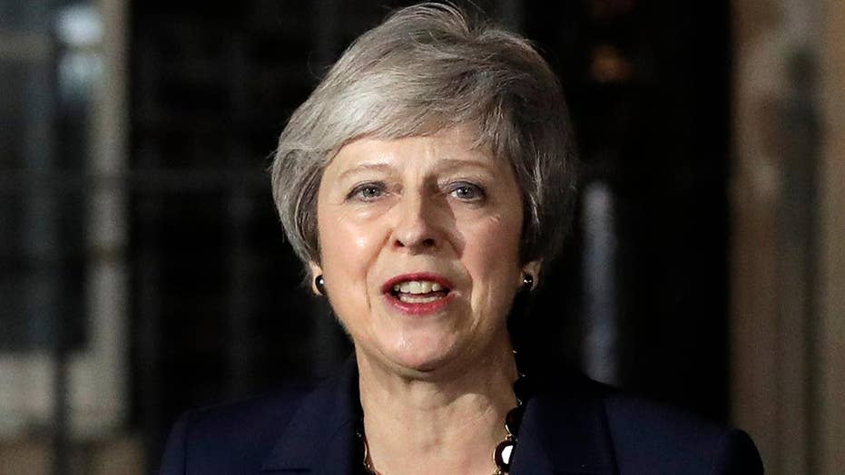 May's plan to leave EU met with hostility at Parliament