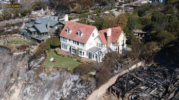 Anthony Hopkins' Malibu mansion miraculously untouched by California wildfire as neighbor's home is destroyed