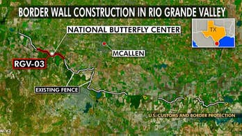 Two border wall projects set for southern Texas